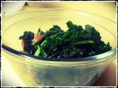Sauteed Kale, simple recipe, easy to cook! #paleo #cleaneating