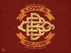Low & Slow designed by Mike Jones. Connect with them on Dribbble; Typography Logo, Typography Design, Logos, Logo Design, Initial Logo, Monogram Logo, Vintage Monogram, Logo Vintage, Hand Drawn Lettering