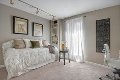 Sherwin Williams Tony Taupe (SW 7038) - living room, guest room, upstairs front room?