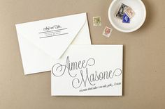 Use your home printer to create stunning printed envelopes. These envelope templates are a savvy and inexpensive alternative to wedding envelope calligraphy. Artwork colors are fully editable directly in Word or Pages.  ♥ HOW IT WORKS ♥  STEP ONE: Install the suggested fonts STEP TWO: Edit your template in Word or Pages ---------------------------------------------------------------  ♥ DOWNLOAD INCLUDES ♥  Envelope Address & Return Address Templates in the following sizes:  A7 ..............
