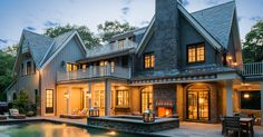 A Belgian Farmhouse in New Canaan