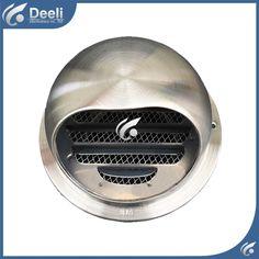 Goede werken Diameter 100mm-300mm pijp ventilator ventilator exhaustfan ventilator rvs outlet