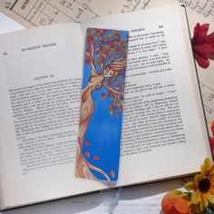 Excited to share this item from my #etsy shop: Autumn Tree Bookmark, Tree Nymph Bookmark, Fall Bookmark, Halloween Bookmark, Tree Spirit, Reading Gifts  #halloween #treespirit #fallleaves #treenymphbookmark #fallbookmark #autumntreebookmark #reading Autumn Trees, Autumn Leaves, Gifts For Readers, Altered Images, Nymph, Bookmarks, My Etsy Shop, Spirit, Colours