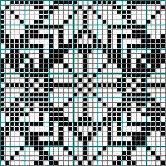Fair Isle Knitting Patterns, Knitting Paterns, Knitting Charts, Knitting Stitches, Knitting Machine, Beaded Cross Stitch, Cross Stitch Charts, Cross Stitch Designs, Stitch Patterns