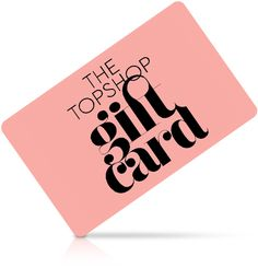 Topshop, Newlook Or H&M Gift Card