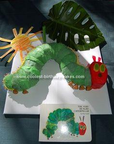 Raupe Nimmersatt Kuchen - Very Hungry Caterpillar Birthday Cake