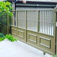 Gate Wall Design, Steel Gate Design, Front Gate Design, Main Gate Design, House Gate Design, Door Design, Gate Designs Modern, Modern Fence Design, Metal Gates