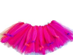 Tulle Tutu 3T 4T Toddler Girls Purple Hot Pink Bows by YoungSparkleandShine on Etsy https://www.etsy.com/listing/213779637/tulle-tutu-3t-4t-toddler-girls-purple