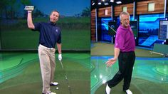 Michael Breed, host of The Golf Fix, and Martin Hall, host of School of Golf, have tips to help you hit the ball straight by correcting your hook and slice.