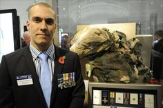 Lance Corporal Mathew Croucher received the George Cross for risking his life to save his comrades in the Afghan War