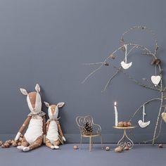 Image 2 du produit Doudou Bambi tissu & pois