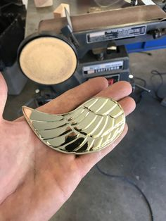 A belt buckle I made for my love (#QuickCrafter)