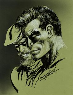 Green Arrow and Green Lantern by Neal Adams