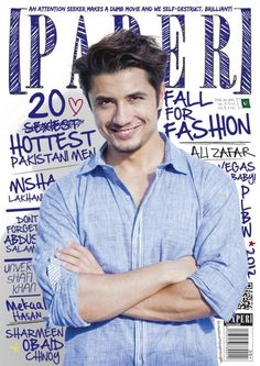 Ali Zafar's covershoot for Paper magazine: Hilarious behind-the-scenes photos!