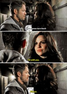 "Robin Hood and Regina - 5 * 21 ""Last Rites"" #OutlawQueen"