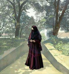Islamic Girl Images, Islamic Pictures, Islamic Art, Muslim Girls, Muslim Women, Hijab Drawing, Anime Muslim, Hijab Cartoon, Hijabi Girl