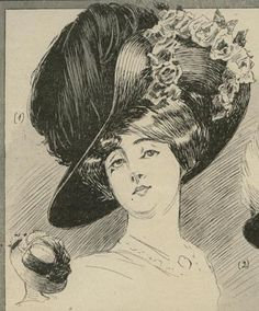 August 1909 Hats