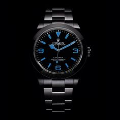 The Rolex Oyster Perpetual Explorer II watch is designed for optimal legibility, even in the dark, the watch features its landmark black dial with luminescent indices. Do Rolex watches hold their value? Is a watch a worthy investment? All is revealed here: http://www.thejewelleryeditor.com/watches/know-how/do-rolex-watches-hold-their-value/ #luxury