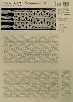 Pattern for scarf