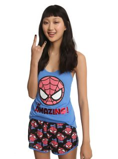 Amazing Spider-Man Sleep Set ~ $29 ~ Marvel Summer Fashion!