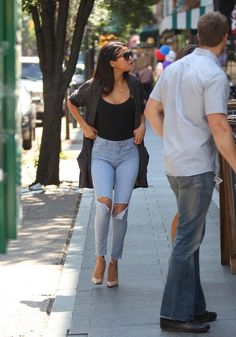 Selena Gomez out in NYC - 2014