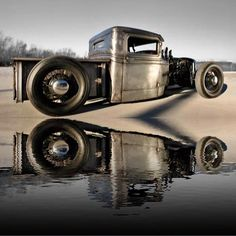 Truck Paint Jobs, Car Trailer, Trailers, Traditional Hot Rod, Custom Cars, Cool Cars, Hot Rods, Classic Cars, Metal