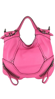 Another color I'd love to have for everyday maybe a diaper bag. Tegan Zipper Round Satchel - Rose