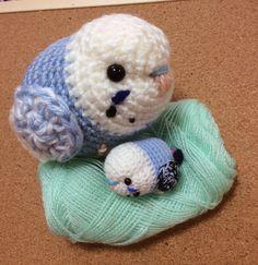 Crochet Bird Patterns, Animal Knitting Patterns, Crochet Birds, Granny Square Crochet Pattern, Stuffed Animal Patterns, Crochet Animals, Amigurumi Patterns, Kawaii Crochet, Crochet Disney