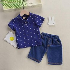 00fab6c69 BibiCola Boys Clothes Children's Clothing Sets Summer Kids Short Sleeves  T-Shirt + Shorts Suits Toddler Boys Clothing Sets