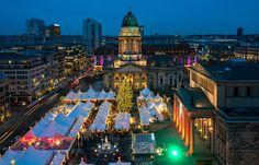 Berlin Germany Christmas Market