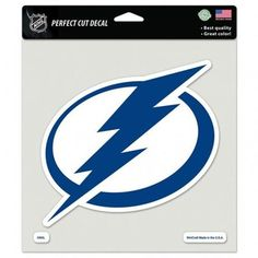 Tampa Bay Lightning Decal 8x8 Die Cut Color #TampaBayLightning