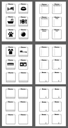 chore borders printable screen shot