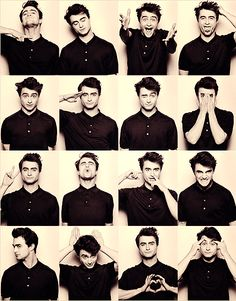 16 Faces of Daniel Radcliffe