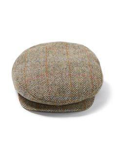 9ae1227a02b Stetson Harris Tweed Premium Ivy Cap Harris Tweed
