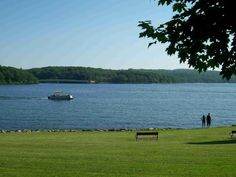 Deep Creek Lake State Park, which features Marylands largest man-made lake, offers opportunities to camp, fish, swim and launch your boat in Garrett County. Popular picnic areas offer views of the lake and beach areas.