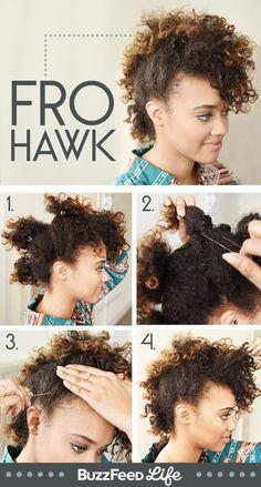 30 Styles De Coiffures Magnifiques Pour Les Cheveux Bouclés !   Coiffure simple et facile