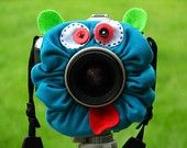 Awesome idea for getting kids to look at the lens!