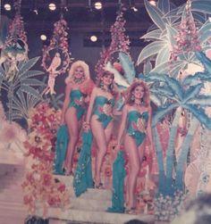 Las Misses en su presentacion en Traje de Baño la Noche del Miss Venezuela 1986..