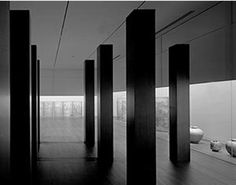 fiore-rosso:  tadao ando | ando gallery [the art institute of chicago].