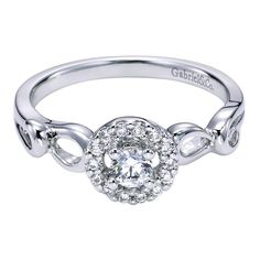 Love this ring! Would like yellow gold instead of white gold. Gabriel Contemporary Engagement Ring ER95732W44JJ