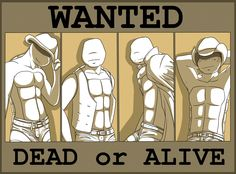 Found on DeviantArt. I have no intention of claiming this as my own. I just REALLY wanted to pin this. I'm sure you can see why... From left to right: Leo, Don, Raph, Mike.
