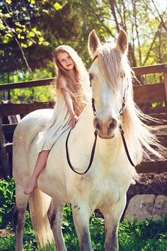 Every girl needs a horse
