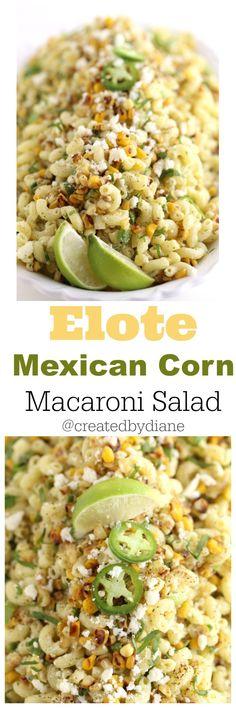 Mexican Macaroni Salad /createdbydiane/