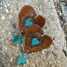 Heart of a Cowgirls hand tooled leather collection is crafted with attention to detail.... each piece of leather is hand cut, hand tooled, dyed and sealed to ensure the luster and color will last... genuine gemstones are selected individually to complement the character of each