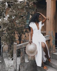 Black Girl Fashion, Look Fashion, Fashion Tips, Fashion Hacks, French Fashion, Fashion Clothes, Korean Fashion, Womens Fashion, Vacation Outfits