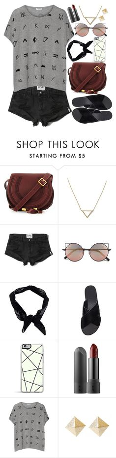 """Day 1"" by slam-style ❤ liked on Polyvore featuring Chloé, Banana Republic, Abercrombie & Fitch, Linda Farrow, Boohoo, Ancient Greek Sandals, Forever 21, Kenzo, kenzo and ootd"