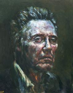 Christopher Walken, Large Print from Original Oil Painting