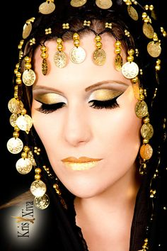 ARABIC MAKE UP KRIS XIVA STUDIO LE GRAIN PHOTOGRAPHY JEAN LE BRETON