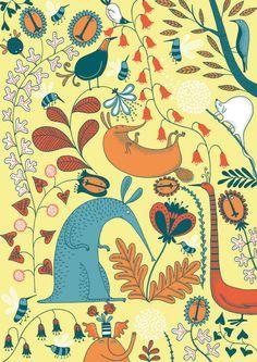 Pattern - Mia Nilsson illustration