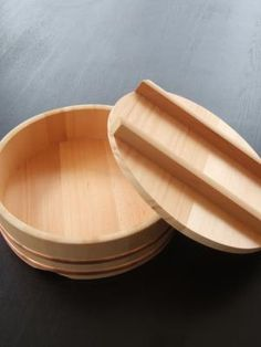 Japanese rice bucket